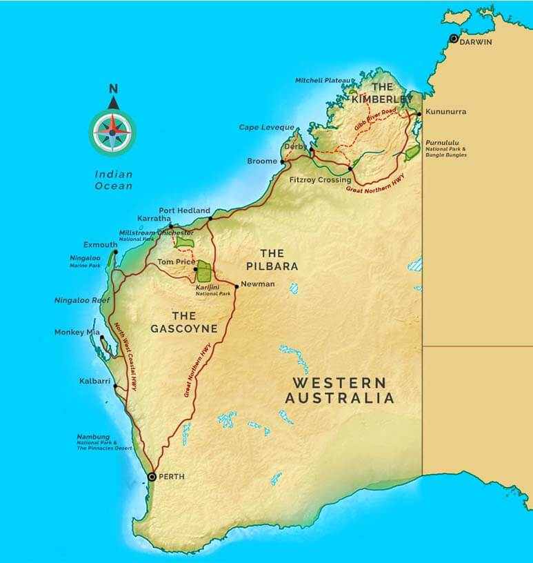 Tours From Broome