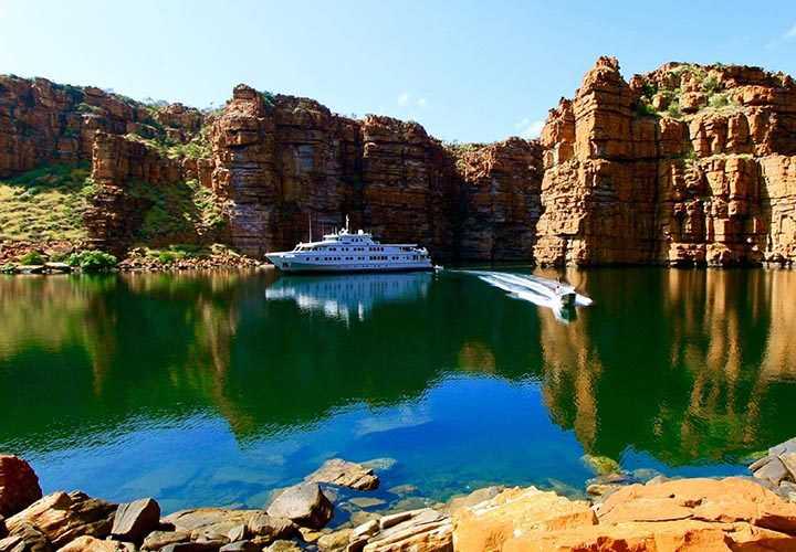 Experience a new perspective on a Kimberley Cruise
