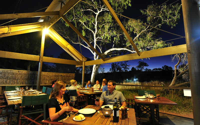 Bungles Lodge Dining