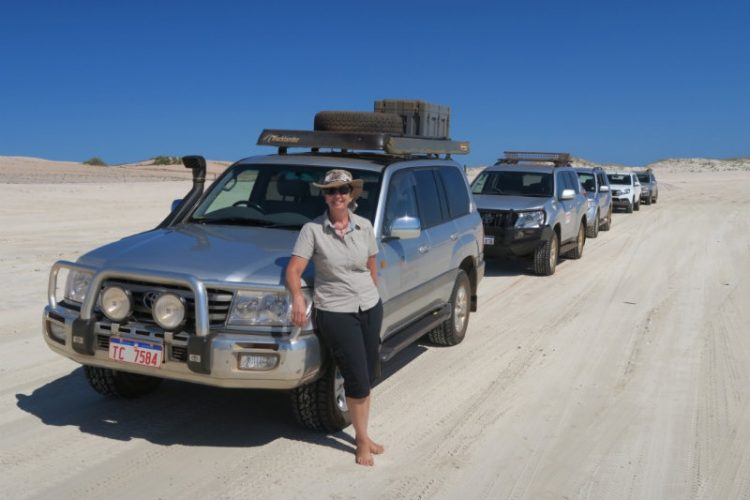 Convoy of 4WD Vehicles