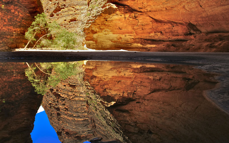 Cathedral Gorge Reflection