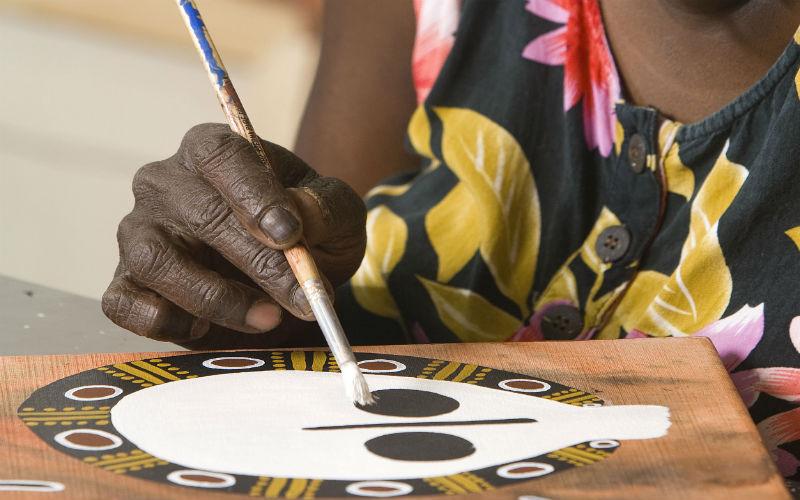 Indigenous Artist Mowanjam