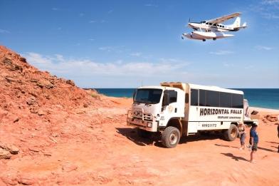 Horizontal Falls Seaplane & 4WD