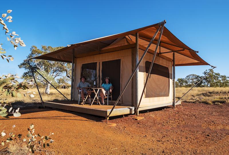 Karijini Eco Retreat Safari Tent